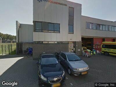 Ambulance naar Vorkweg in Alphen aan den Rijn