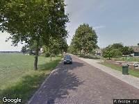 Traumahelikopter naar Oude Rijksweg in Rouveen