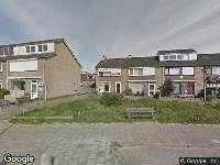 Ambulance naar Churchill-laan in Egmond aan Zee
