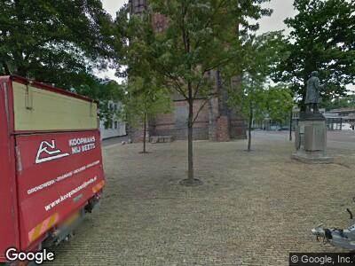 Brandweer naar Oldehoofsterkerkhof in Leeuwarden