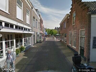 Brandweer naar Treubstraat in Voorschoten