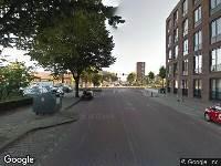 112 melding Brandweer en politie naar Sint Ceciliastraat in Tilburg