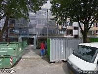 112 melding Brandweer naar Herderlaan in Utrecht