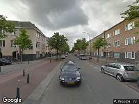 Traumahelikopter naar Wouwermanstraat in 's-Gravenhage