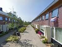 Brandweer naar P.C.Boutensstraat in Alkmaar