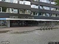 Ambulance naar Keizer Karel V Singel in Eindhoven