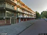 Ambulance naar Amerbos in Amsterdam