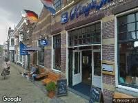 Ambulance naar Koningsstraat in Alkmaar