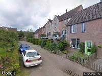 Brandweer naar Van Blanckvoortmarke in Zwolle