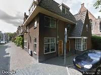 Brandweer naar Servaasbolwerk in Utrecht