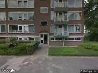Brandweer naar De Savornin Lohmanweg in Dordrecht