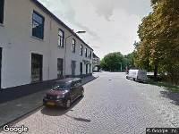Ambulance naar Nijverheidssingel in Breda
