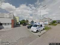Politie naar Wilhelm Röntgenstraat in Zwolle