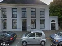 112 melding Brandweer naar Gansstraat in Utrecht