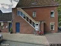 112 melding Ambulance naar Van Vlietstraat in Breda