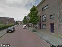 Traumahelikopter naar Wim van Eststraat in Haarlem