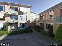 Brandweer naar Oranje Nassauplein in Huizen