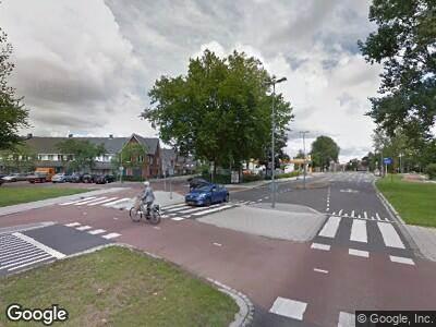 Politie naar Karel Doormanweg in Dordrecht