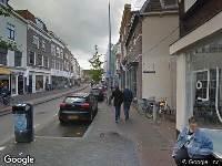 Traumahelikopter naar Voorstraat in Utrecht