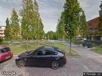 112 melding Brandweer naar Provinciepassage in Alphen aan den Rijn