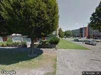 Ambulance naar Hendrik Berlagestraat in Breda