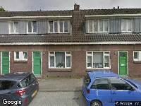112 melding Brandweer en politie naar Sperwerstraat in Arnhem