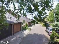 Ambulance naar Barnsteenstraat in Alphen aan den Rijn