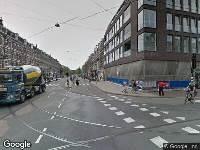 Politie naar Ferdinand Bolstraat in Amsterdam