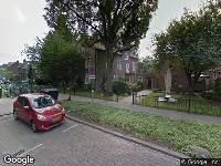112 melding Brandweer naar Prins Bernhardplein in Utrecht