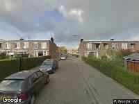 112 melding Ambulance naar Wagenbergstraat in Rotterdam