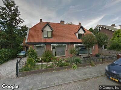Brandweer naar Mr. Tripkade in Utrecht