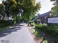 Politie naar Baarnseweg in Bosch en Duin