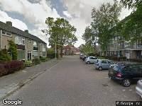 Brandweer naar Konvooistraat in Leeuwarden