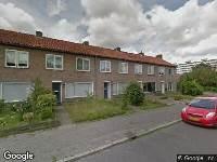 Politie naar Albatrosstraat in Utrecht