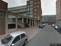 112 melding Brandweer naar Adriaan Kooningsstraat in Rotterdam
