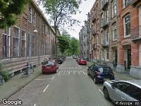 Ambulance naar Kazernestraat in Amsterdam