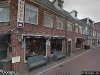 Brandweer naar Koningstraat in Dokkum