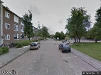 112 melding Brandweer naar Corellistraat in Leeuwarden