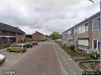 Brandweer en politie naar Bloemstraat in Achthuizen