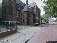 112 melding Ambulance naar Weerijssingel in Breda