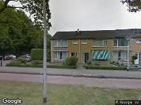 Ambulance naar Bachlaan in Tilburg