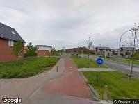 Politie naar Frankhuizerallee in Zwolle