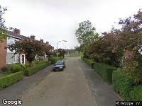 112 melding Brandweer naar Pareaustraat in Assen