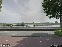 112 melding Brandweer naar Westervoortsedijk in Arnhem