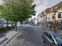 Ambulance naar Kerkplein in Monster
