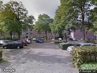 112 melding Brandweer naar Regentenstraat in Zwolle