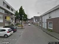 112 melding Ambulance naar Pastoor Sprengersstraat in Tilburg