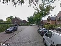 Ambulance naar Overakkerstraat in Breda