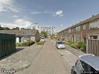 Brandweer naar Freesiastraat in Oosterhout
