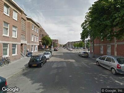 Ambulance naar Schalk Burgerstraat in 's-Gravenhage